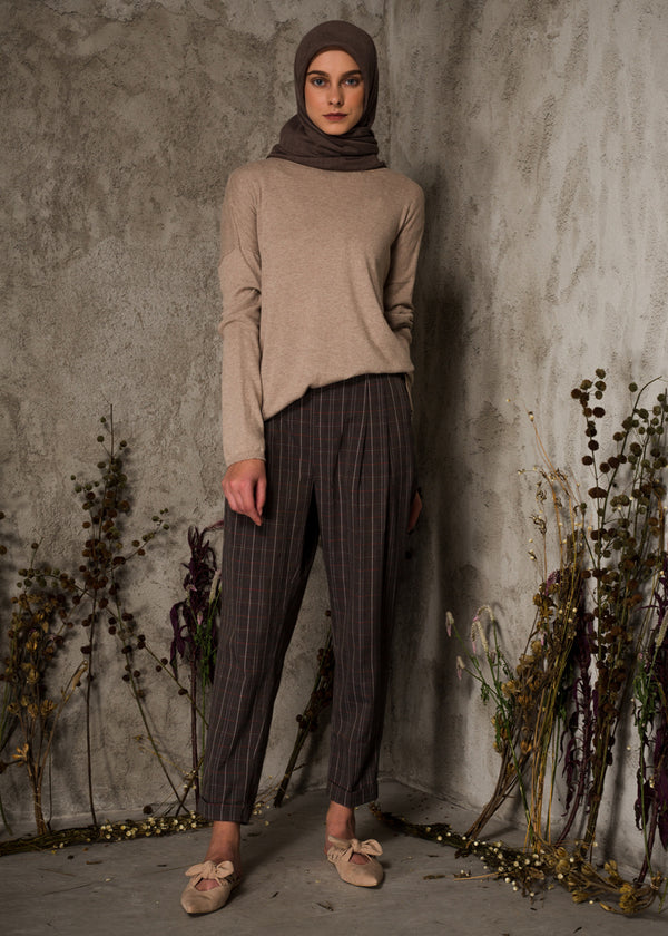 Galea Pants Checked Sand