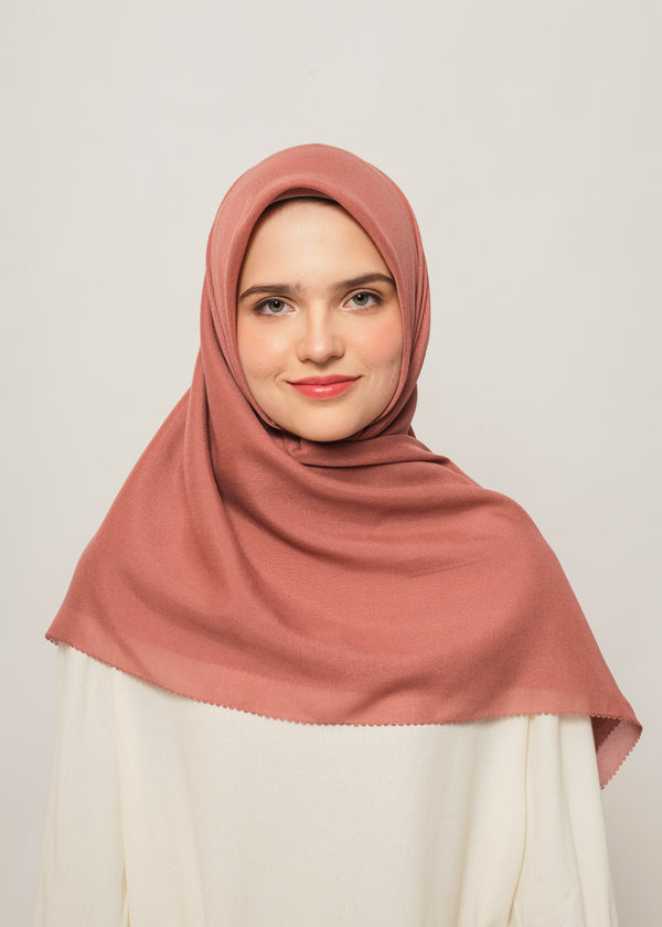 Tisha Scarves Rose Pink