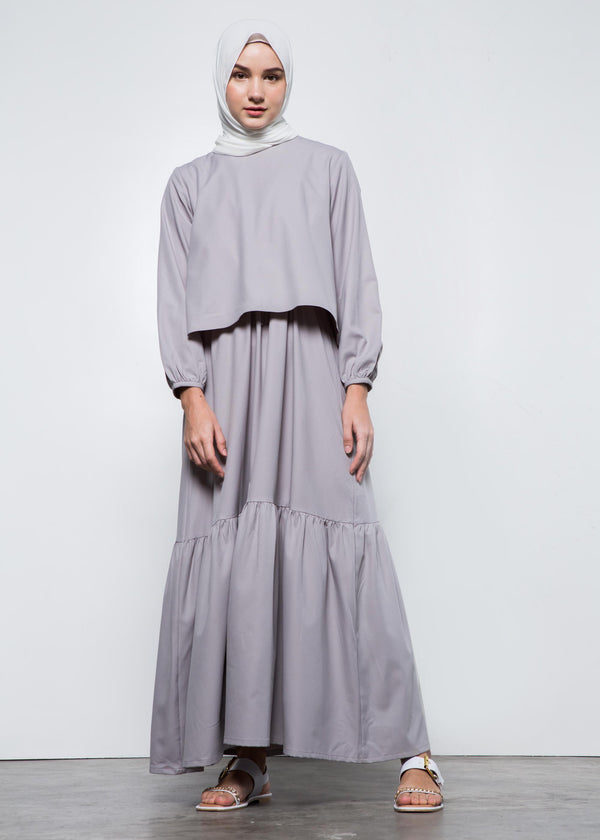 Bexina Dress Gray