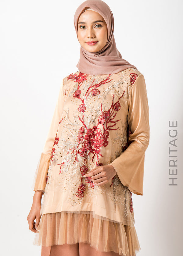 Aruna Top Red