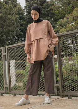 Gina Top Brown
