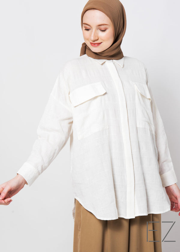 Tara Shirt Off White