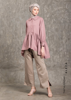 Thamia Embellished Shirt Dusty Pink