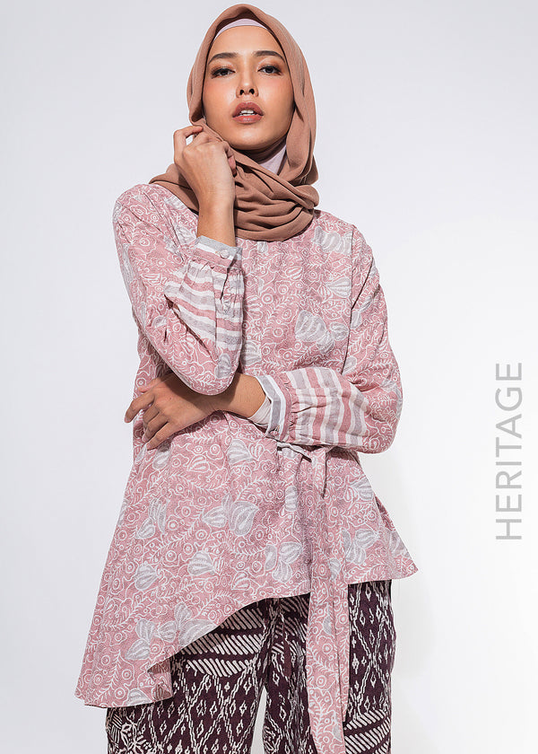Alma Top Dusty Pink