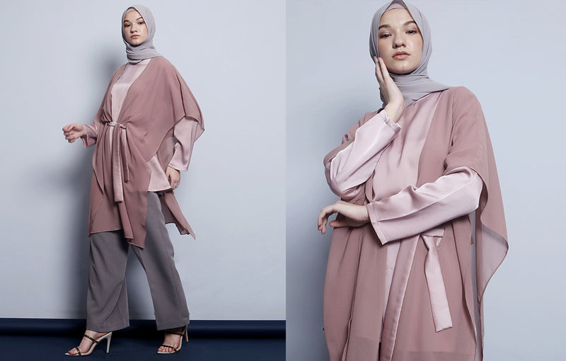 Dilava Top Dusty Pink