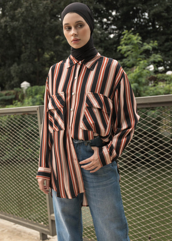 Giana Shirt Terracotta
