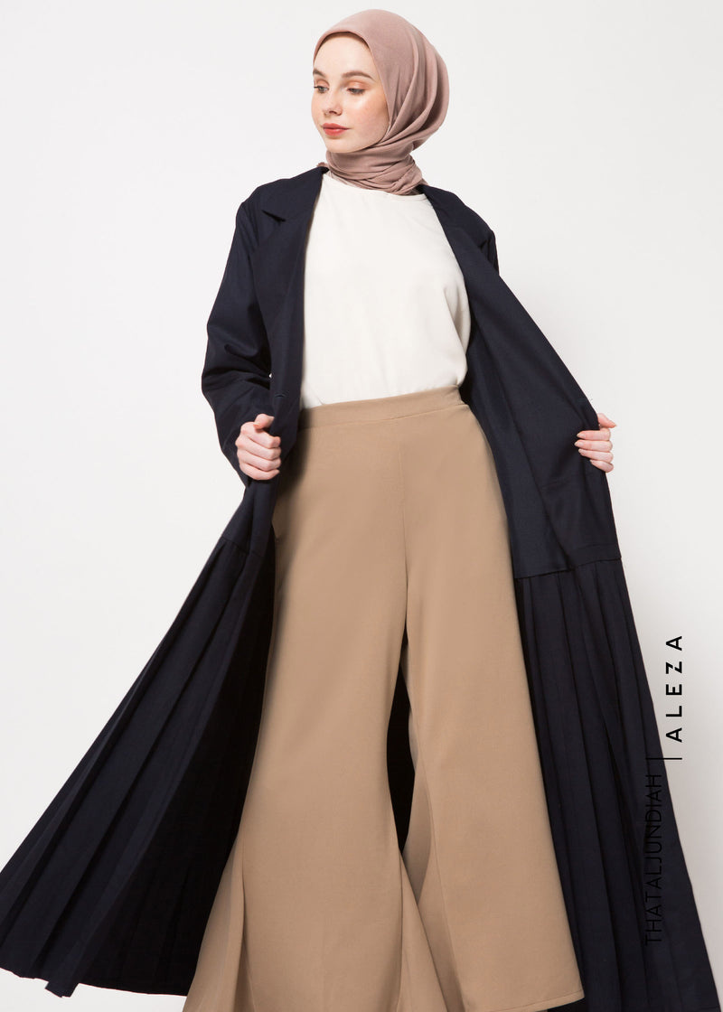 Thama Trench Dress Navy