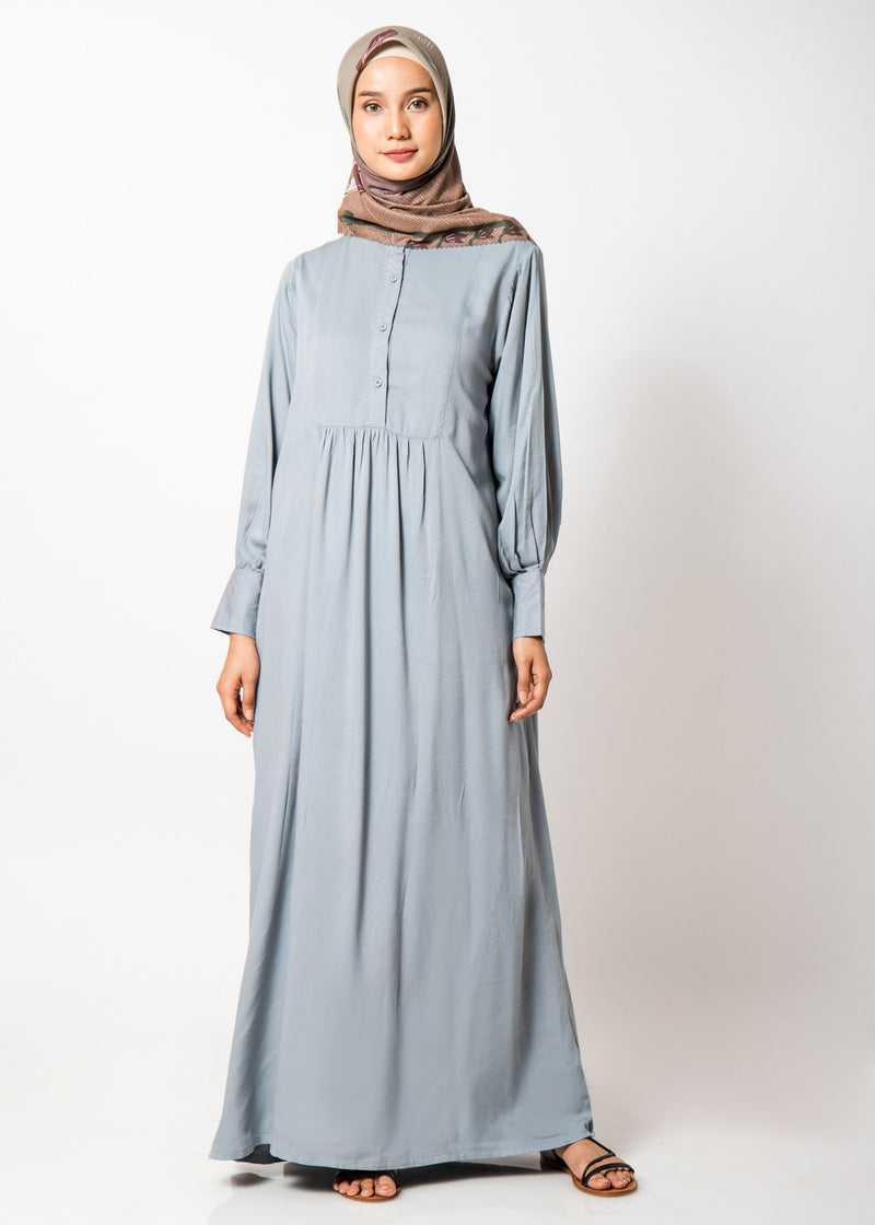 Ghauri Dress Blue Gray
