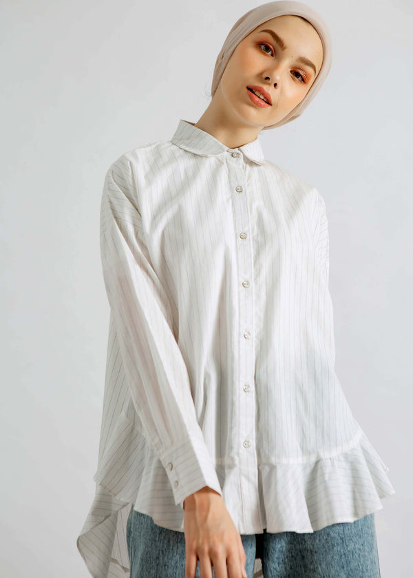 Abigail Shirt White