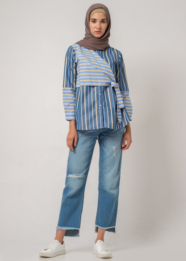 Ciandra Shirt Blue