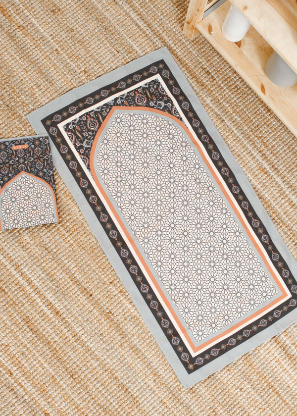 Afsha Prayer Mat Navy