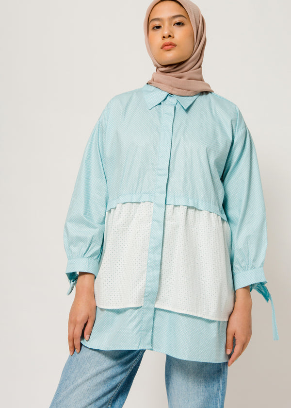 Pitya Shirt Soft Blue
