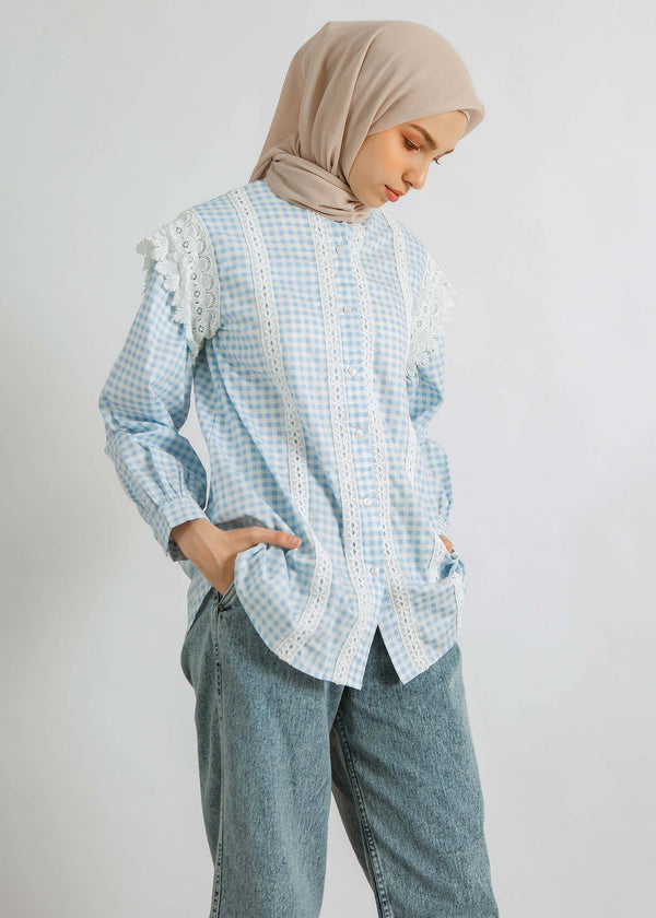 Aira Shirt Light Blue