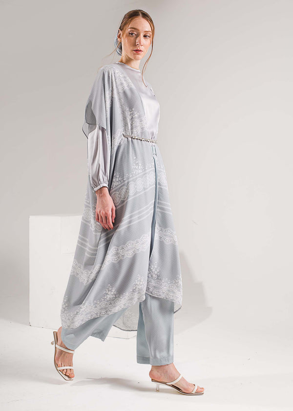 Alina Tunic Set Icy Blue