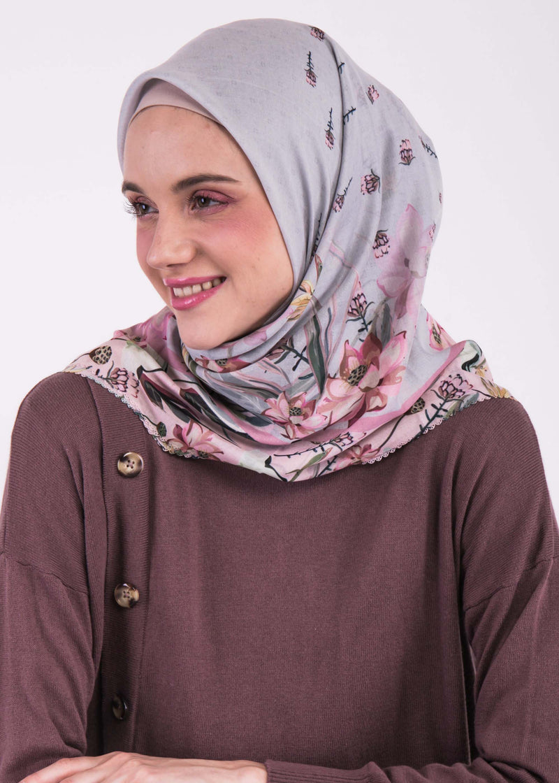 Arumi Scarves Light Gray