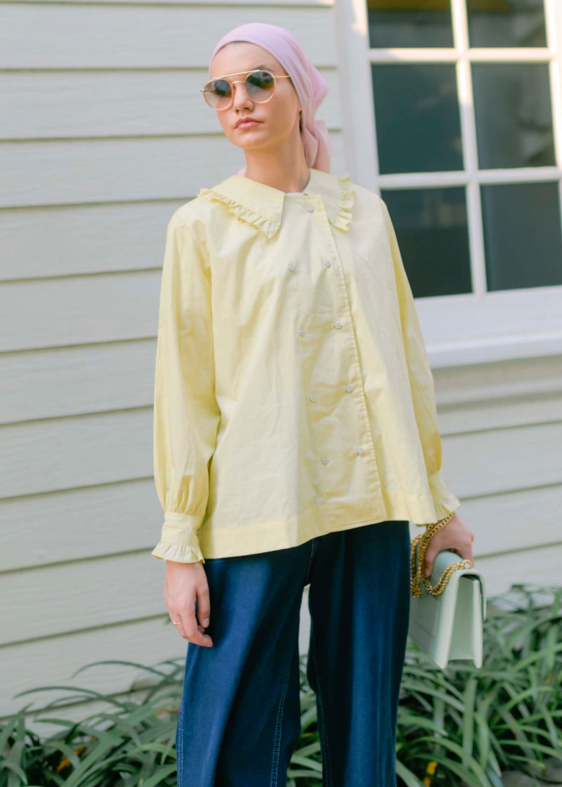 Ava Shirt Yellow