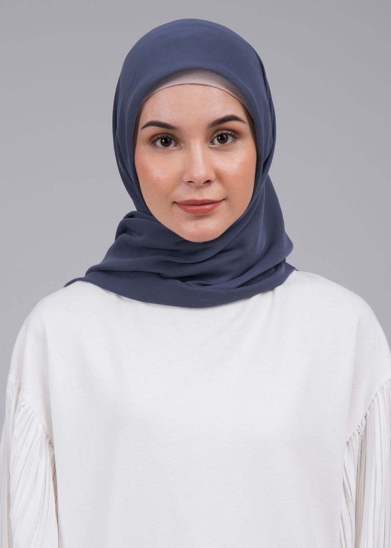 Azqia Scarves Navy