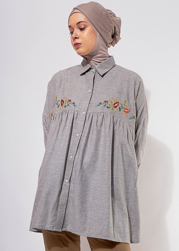Brisia Shirt Gray