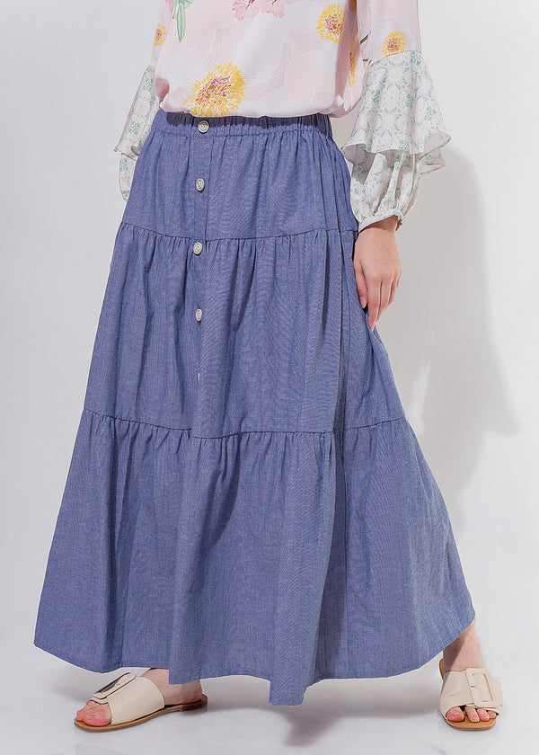 Canaya Skirt Denim Blue