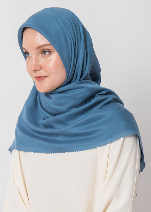 Mizzu Scarves Blue Gray