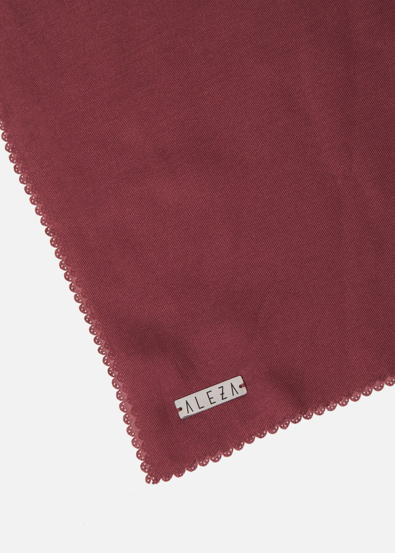 Mizzu Scarves Burgundy