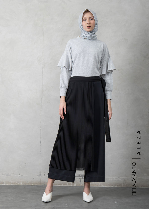Fizka Layer Pants Black