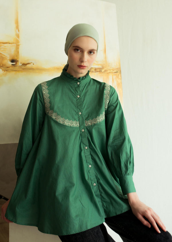 Cemila Shirt Green