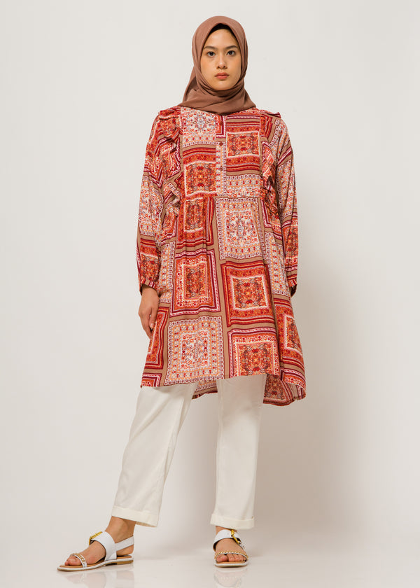 Zacia Tunic Terracotta