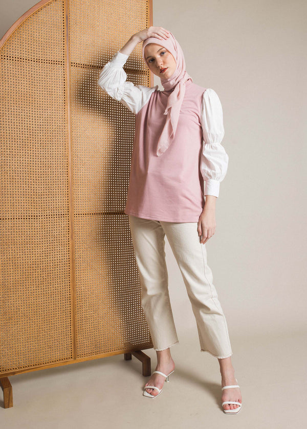 Cilla Sweatshirt Dusty Pink