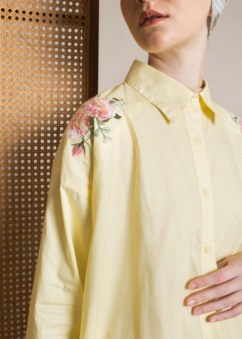 Cindya Shirt Yellow