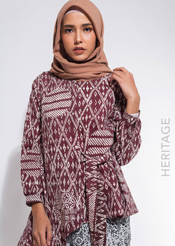Azura Top Brown