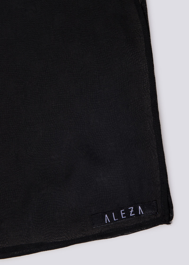Cazzie Scarves Black