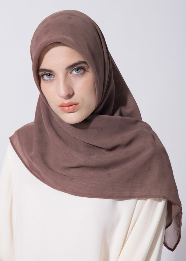 Cazzie Scarves Brown