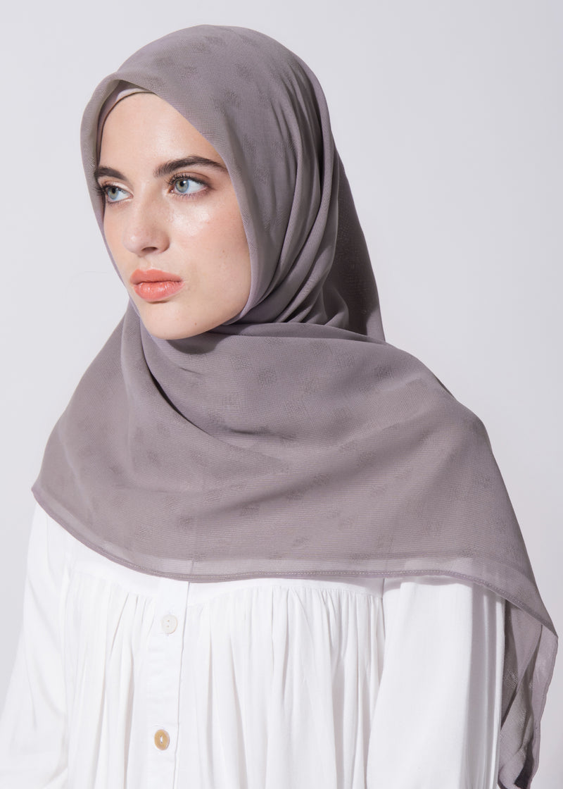 Cazzie Scarves Light Gray
