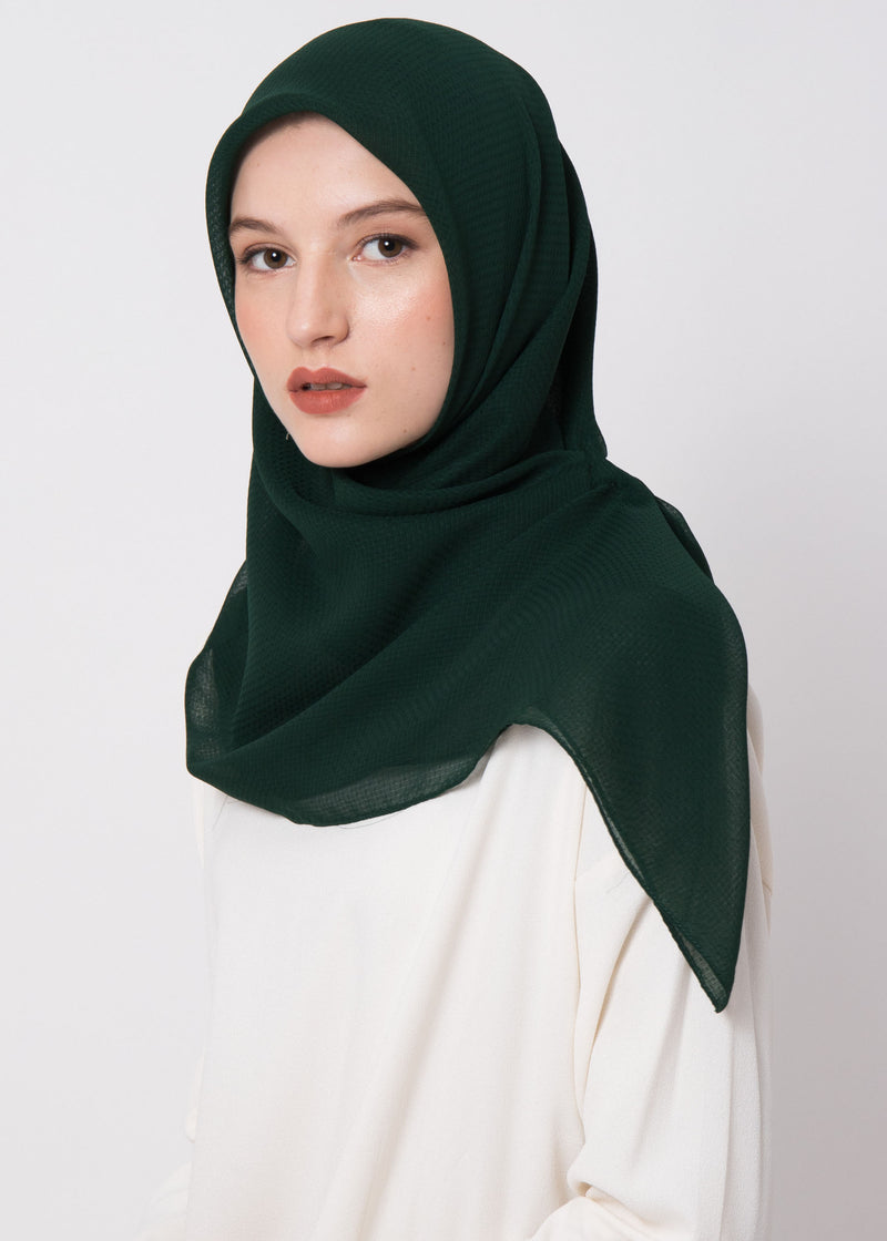 Ceza Scarves Forest Green