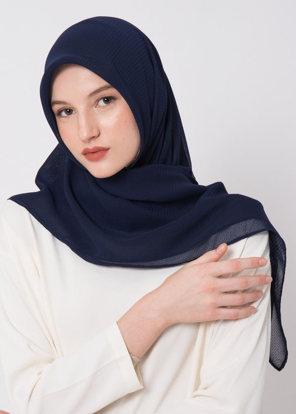 Ceza Scarves Navy
