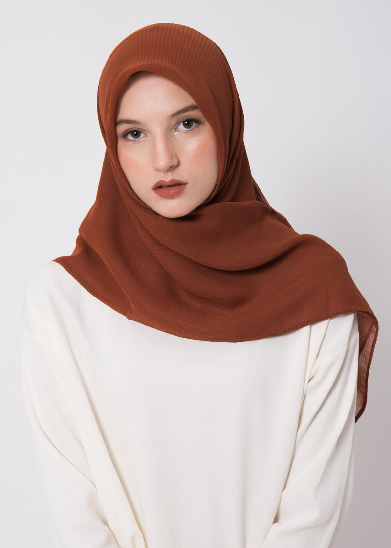 Ceza Scarves Terracota