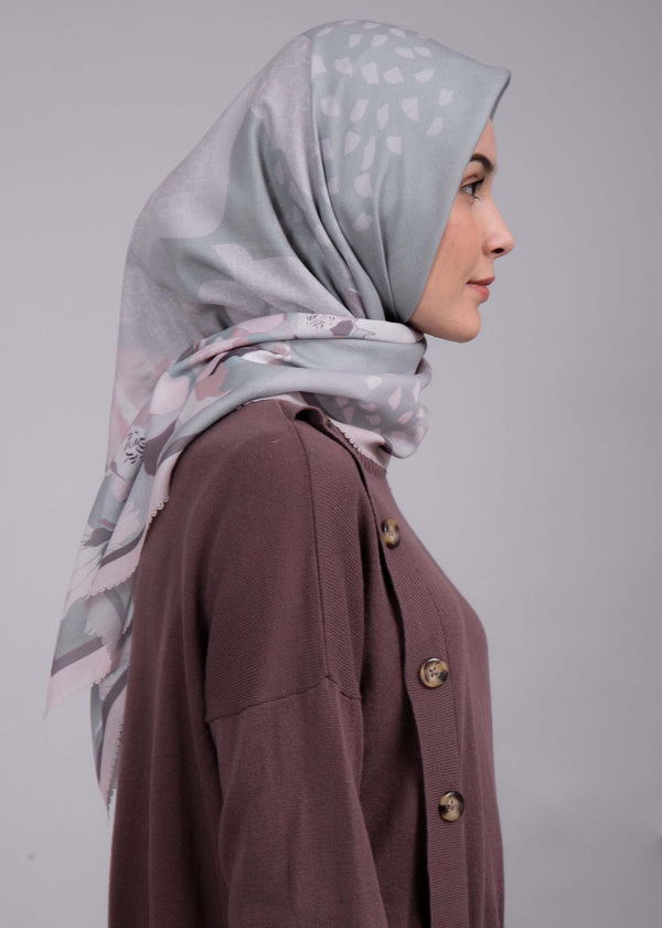 Damiza Scarves Gray