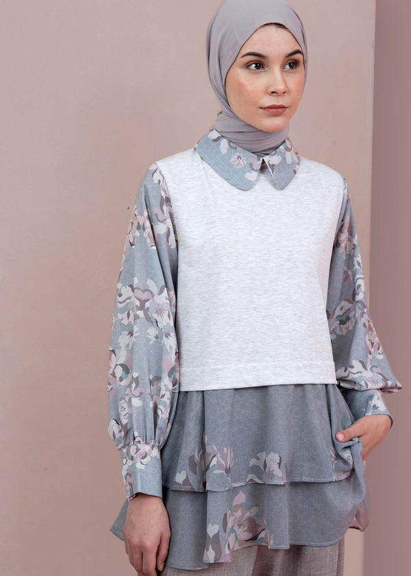 Daniza Top Gray
