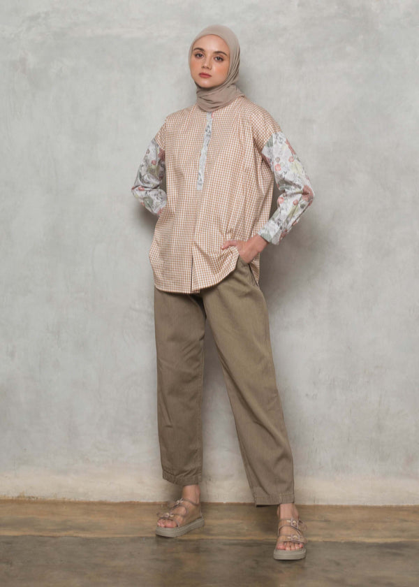 Devia Top Brown