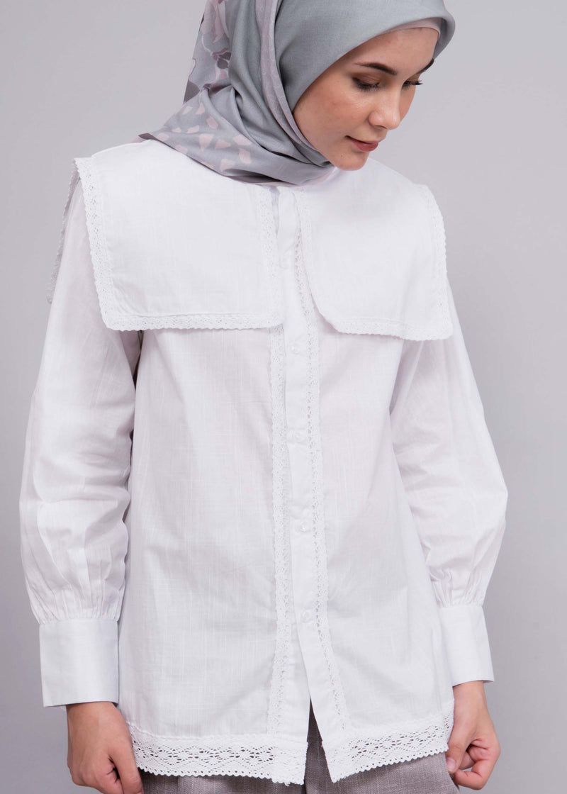 Dumia Shirt White