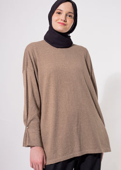 Daira Sweater Brown