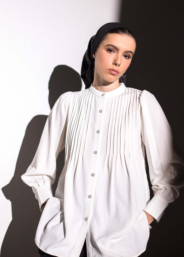 Egya Shirt White