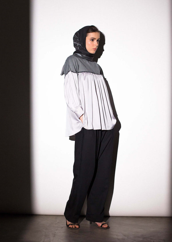 Enila Top Gray