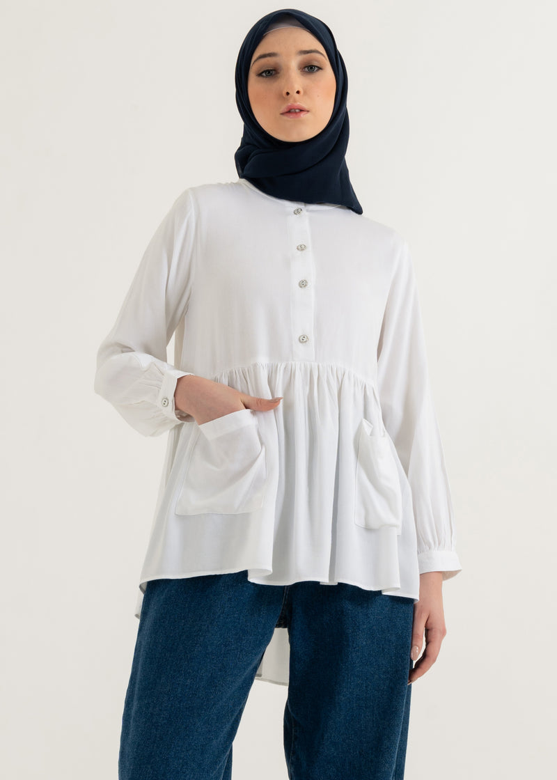 Danisha Top Broken White