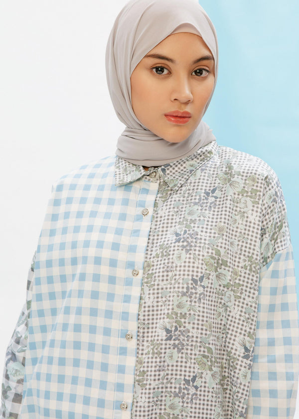 Farasha Shirt Blue Sky