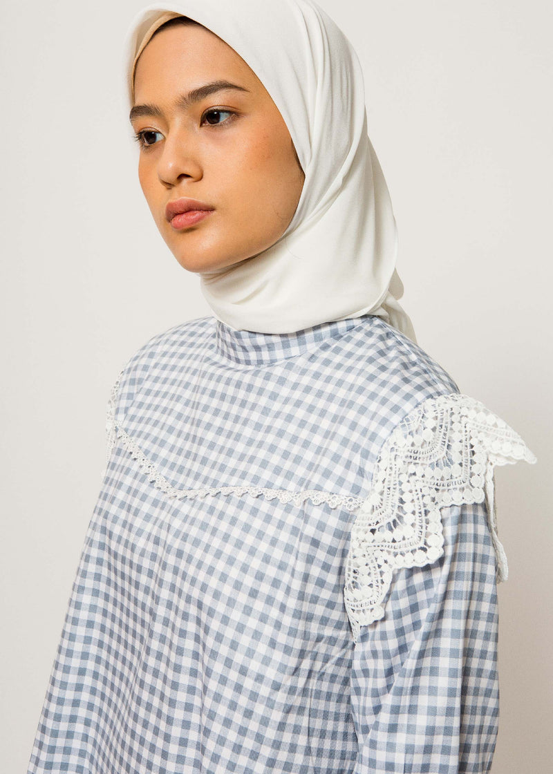 Prianka Top Dusty Blue