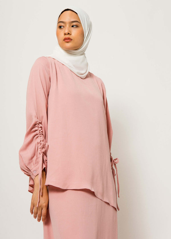 Priva Dress Dusty Pink