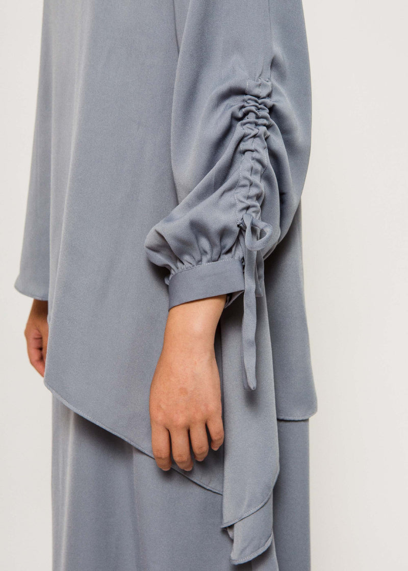 Priva Dress Dusty Gray