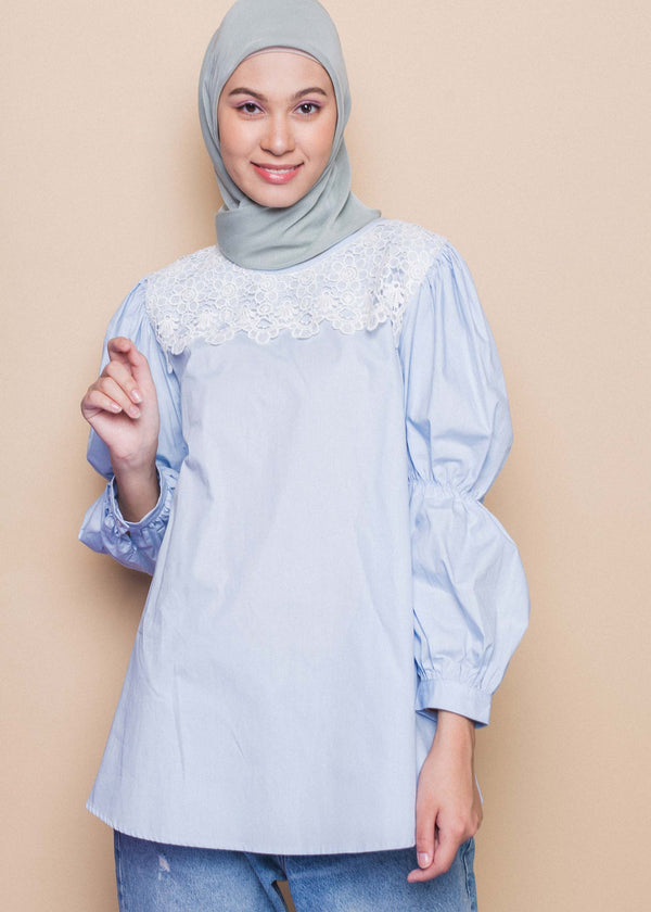 Fiola Top Light Blue